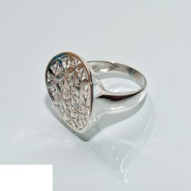 Dames Zilveren ring