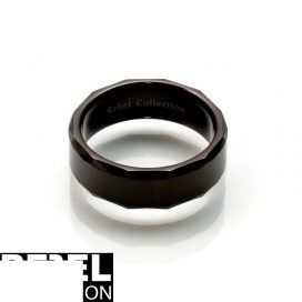 Black tungsten ring